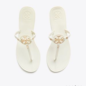 Tory Burch Mini Miller Sandals - TAN